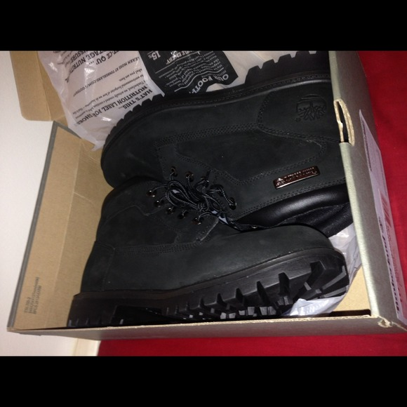 Mens Black Suede Timberlands Size 10 31f8f20cea5f