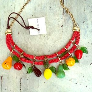 Bimba y Lola Jewelry - Reserved for @fashionableeme!!!! Fruit necklace 1