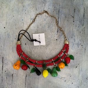 Bimba y Lola Jewelry - Reserved for @fashionableeme!!!! Fruit necklace