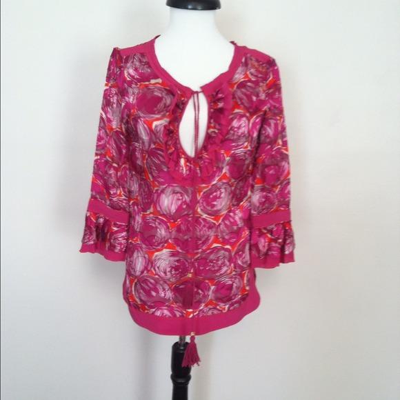 f3f27e53108ae Tory Burch silk shirt NWT