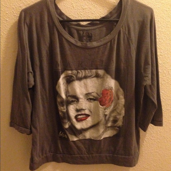 70 off forever 21 tops marilyn monroe shirt from alexis