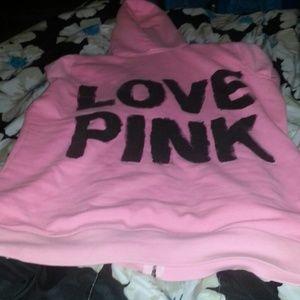 Vs love pink hoodie