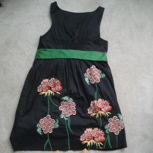 Anthropologie Dresses Floreat Cranesbill Dress Poshmark