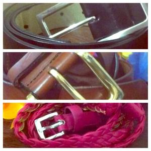Accessories - RESERVED BUNDLE BELTS II