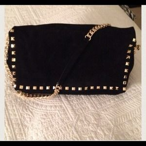 9dd97b83 Zara Bags | Im Looking For This Suede Studded Handbag | Poshmark