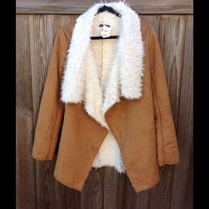 Brandy Melville brown suede jacket