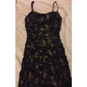 Dresses & Skirts - Lace strap dress size S