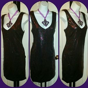 As You Wish - 🎉HP🎉As You Wish Black Sequin Tank Dress from Kelle ...