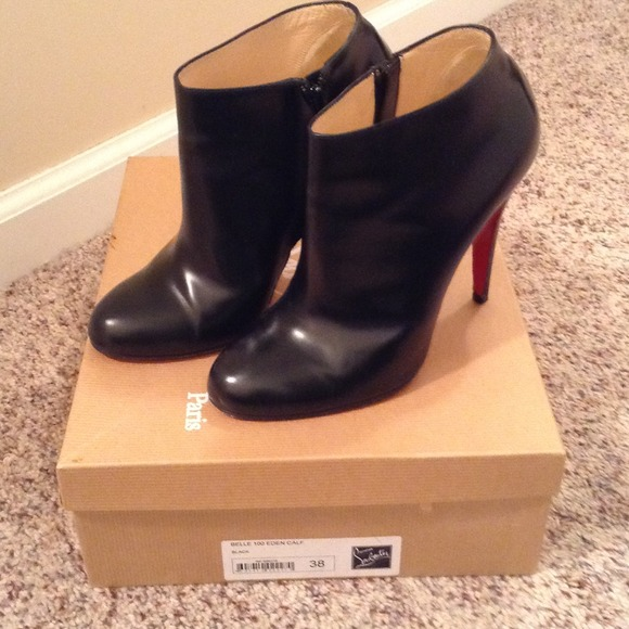 Christian Louboutin Shoes - Christian Louboutin Belle 100 calf bootie. d50d19446