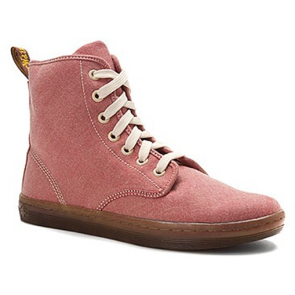 Dr Martens Airwair shoreditch pink shoes