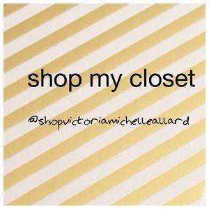 Shop my closet on Instagram