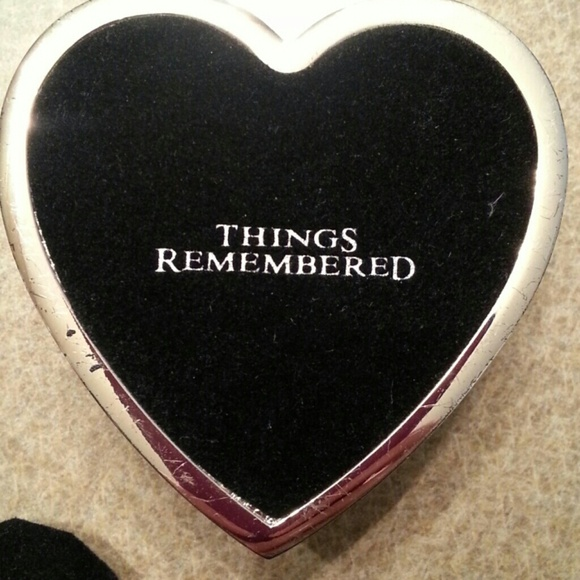 60 off things remembered other silver heart jewelry box for Things remembered jewelry box