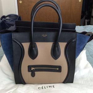 replica handbags celine - 42% off celine luggage Handbags - Celine luggage bag, brown color ...