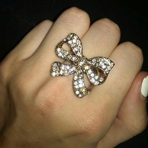 Authentic Betsey Johnson Bow Ring