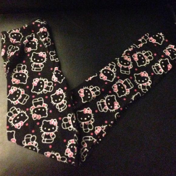 49b19785b Hello Kitty Pants | Leggings Blackpink Printed | Poshmark