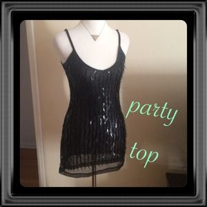 Tops - 🌺 SEQUIN PARTY TOP 🌺 size S