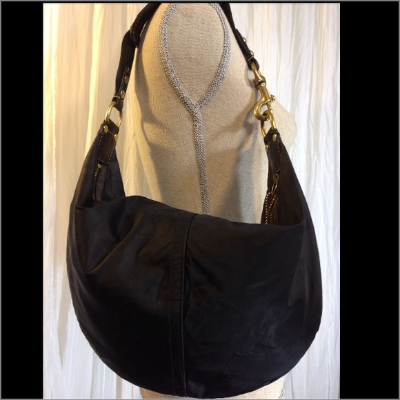 Womens Coach Large Black Hobo Bag on Poshmark