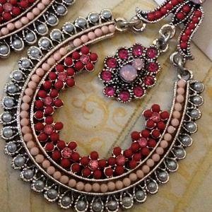 Jewelry - 💗Redish pink Bundle jewel