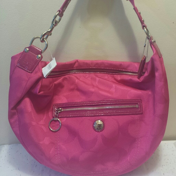 ac48935b799a Coach Hot Pink Hobo Bag
