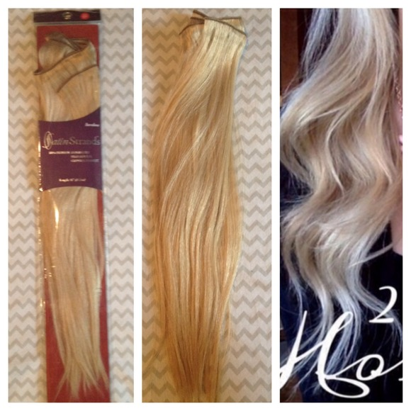 Satin Strands Accessories 100 Human Hair Extensions Poshmark