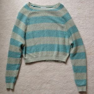 Urban Outfitters rugby crop sweater