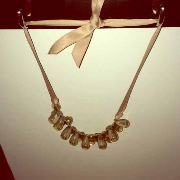 70 off j crew jewelry ribbon tie necklace from j 39 s for Ribbon tie necklace jewelry