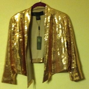 Kardashian Kollection  Jackets & Blazers - Kardashian Kollection  sequin blazer