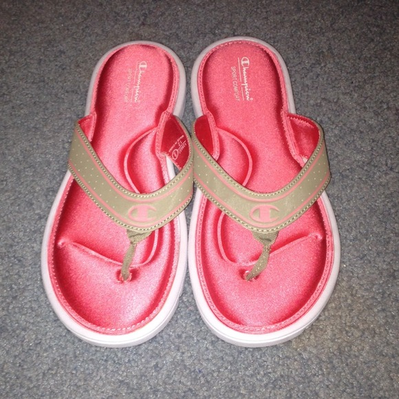 292c724df99 Champion Shoes - Sport comfort flip flops w  memory foam sole