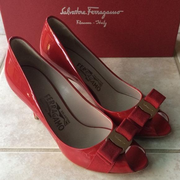 6b6862bd6 Ferragamo Shoes - SALVATORE FERRAGAMO Ribes 70 Pumps