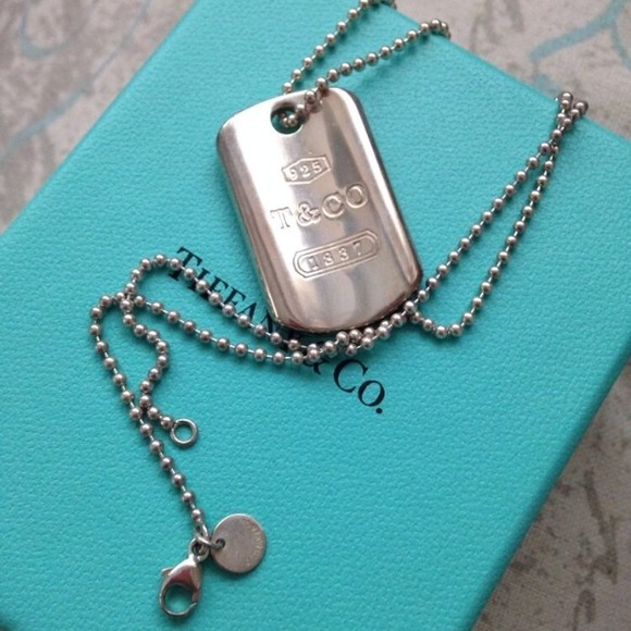 1fcff0a15 Tiffany & Co. Jewelry | Tiffany Co Dog Tag Pendant | Poshmark