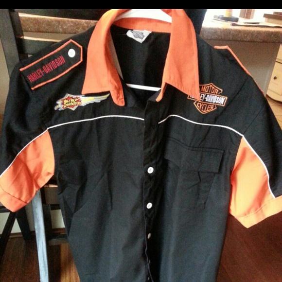 dc2b7bb7367393 Harley Davidson mens shirt
