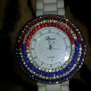 geneva Jewelry - Geneva Crystal Watch