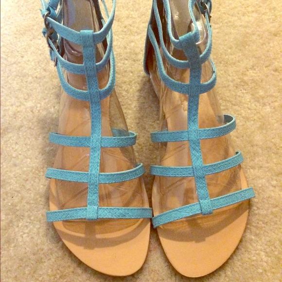 235df9dc787 Nib light blue gladiator sandals ☺ 😍