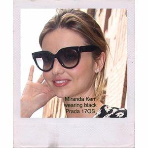 98434250bb86 ... new zealand brand new prada cat eye sunglasses 89624 5b6a0