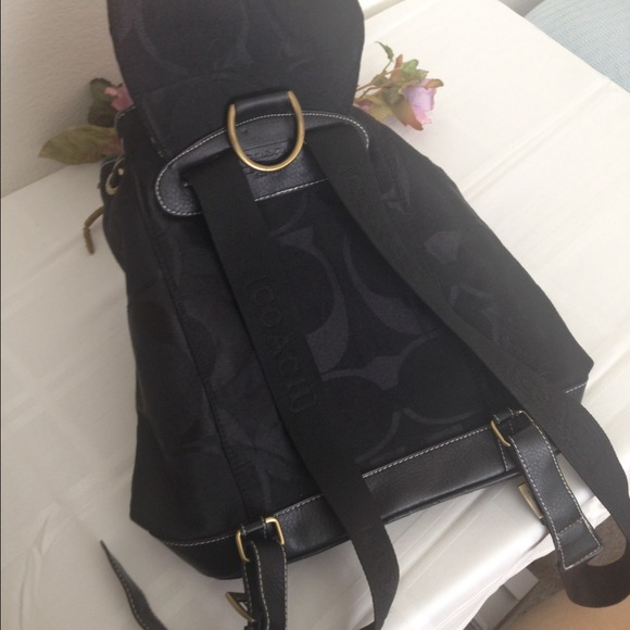 backpack coach outlet v27t  coach black backpack purse coach black backpack purse