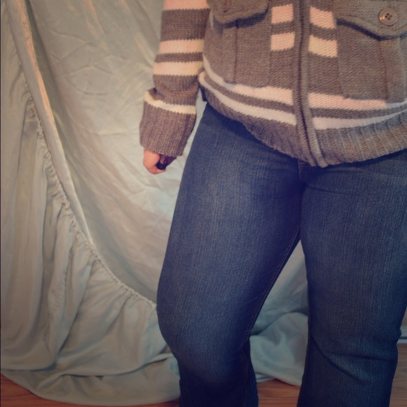 37% off LEI Denim - LEI Sophia Hipster Flare Jeans | SZ 15 LONG ...