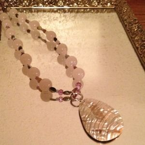 Jewelry - Beaded Abalone Necklace