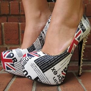 Shoes - *NEW* England Signature Stilettos