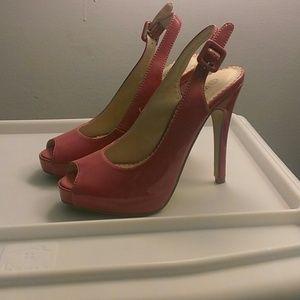 Shoes - Hot pink heels
