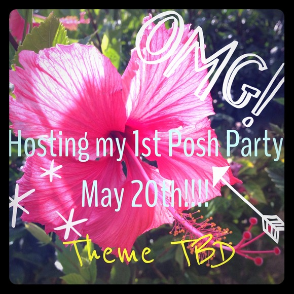 Dresses & Skirts - Hosting my FIRST Posh Party May 20th!!!!