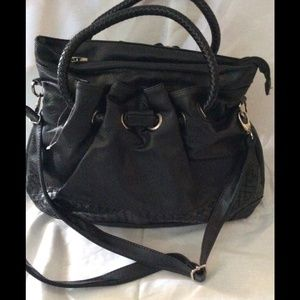 Large Black Handbag Tote nwot