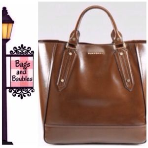 Burberry Handbags - New with Tag! BURBERRY Large Tote, Brown