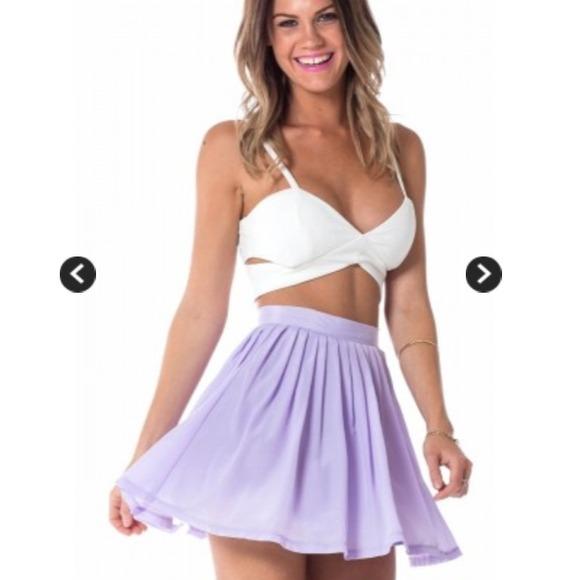 sabo skirt - UNAVAILABLE Lollipop skater skirt in lavender asos ...
