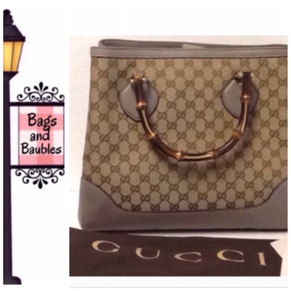 74b4564fe40dca Gucci Bags   Price Firm Diana Gg Tote With Bamboo Handles   Poshmark