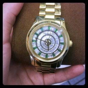 Michael Kors Emerald Crystal Watch
