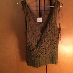 Tops - Olive Green Sweater