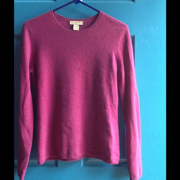 Simply Cashmere - Fuchsia Cashmere Sweater! from Jeni's closet on ...