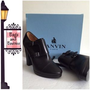 Lanvin Shoes - New LANVIN Black Monk Booties, FR 40 | US 9-9.5*