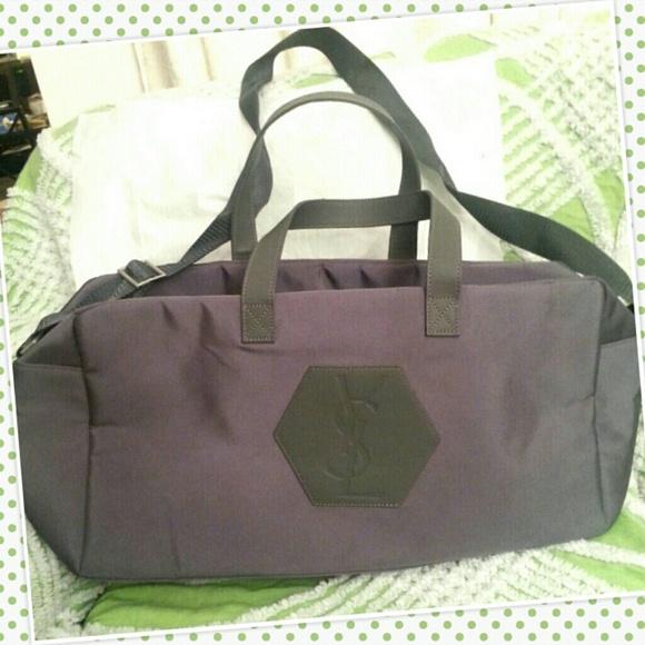 77% off YSL Handbags - YSL weekender duffle, travel-gym bag from ...