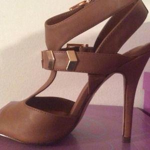 Shoes - New Open toe fancy heels